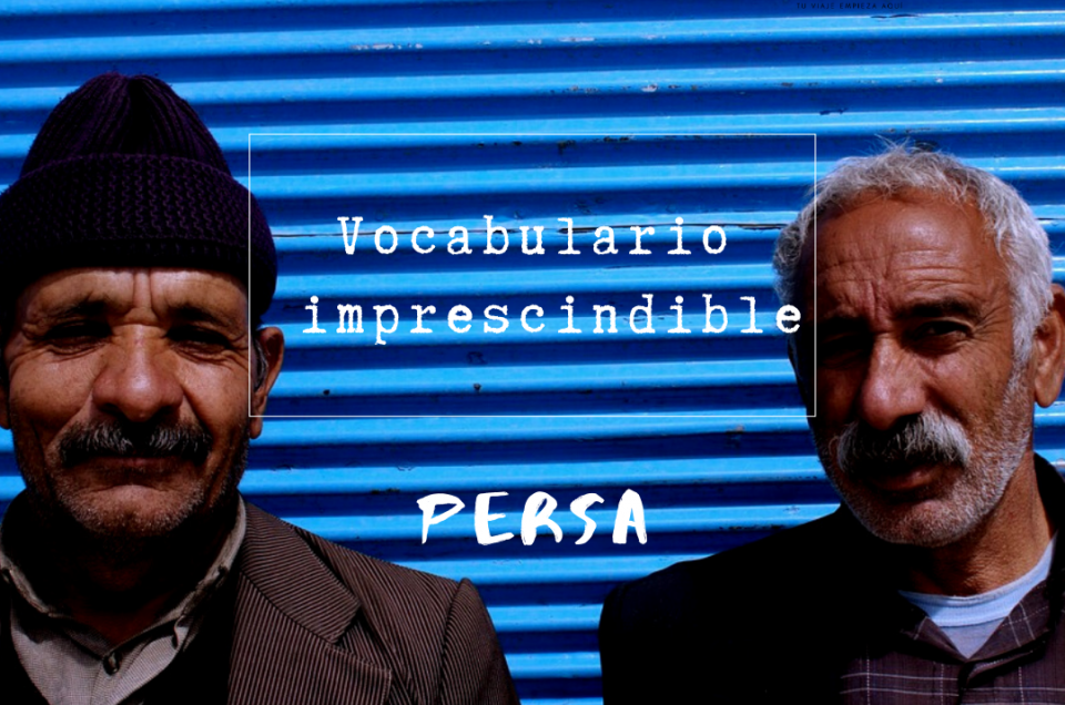 Vocabulario persa imprescindible