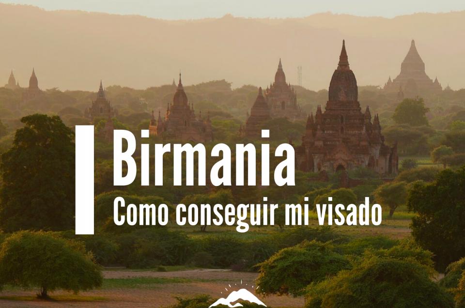 birmania visado