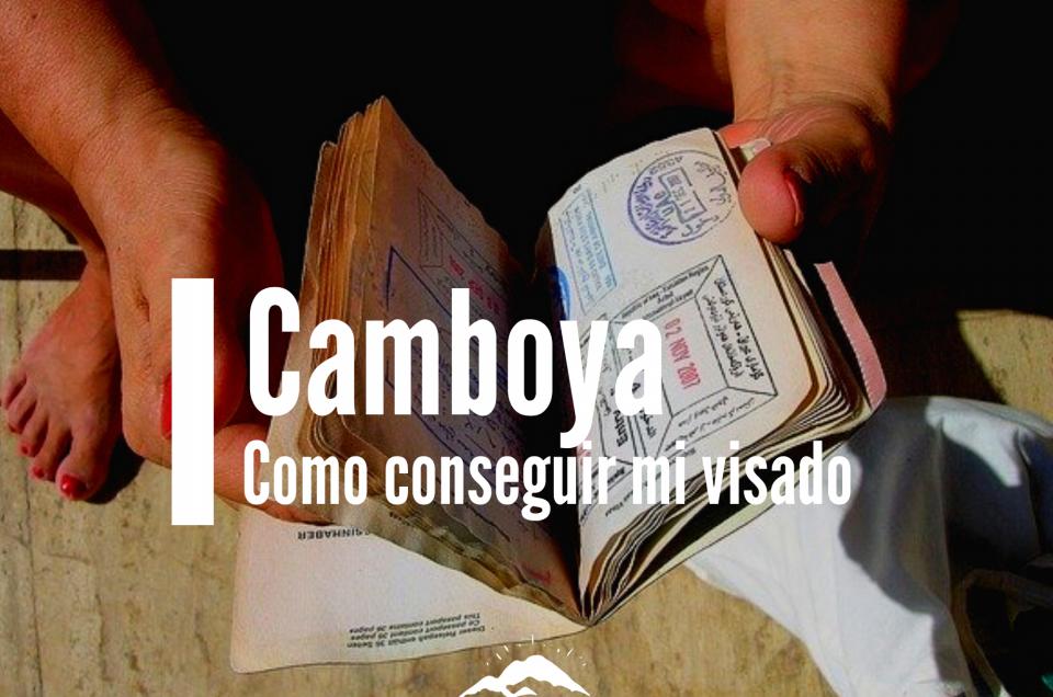 camboya visados