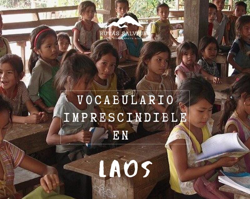 vocabulario imprescindible en Laos