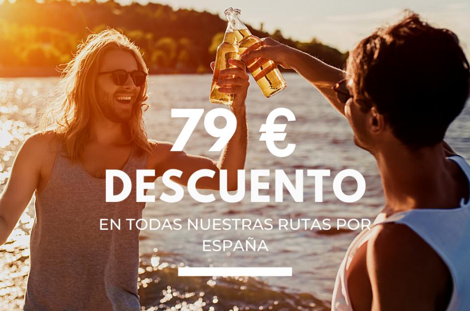 Descuento viajes en España