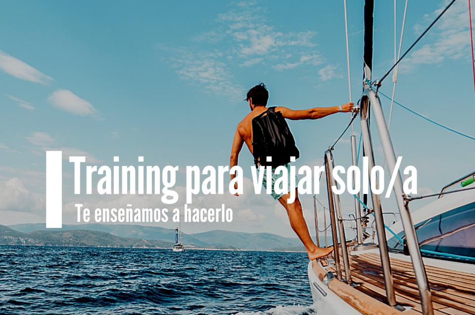 Training para viajar solo/a