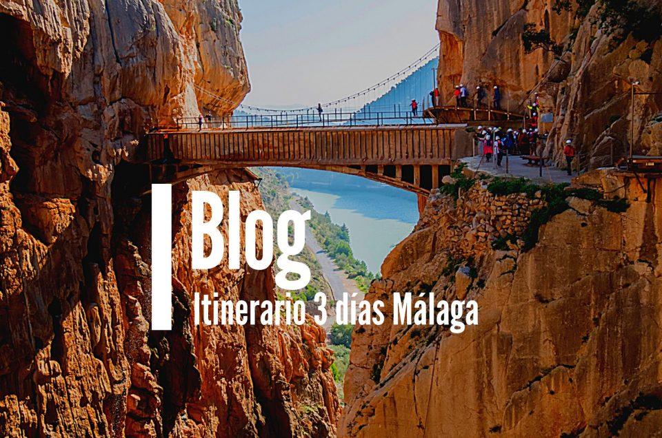 Itinerario ruta 3 días Málaga